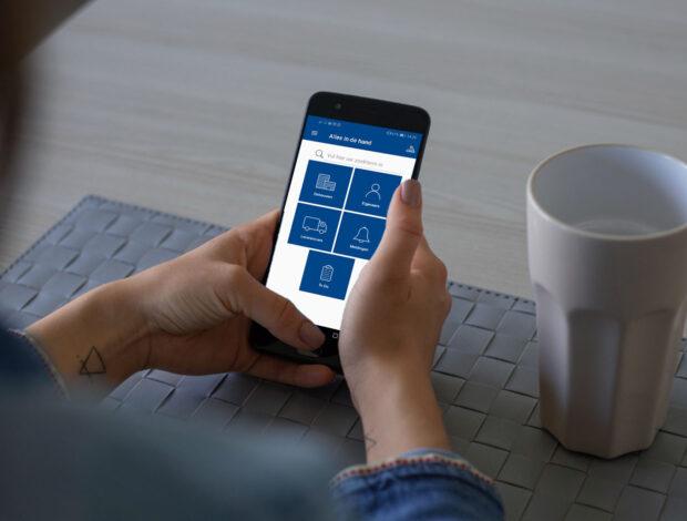 Mobiele app Syndesk